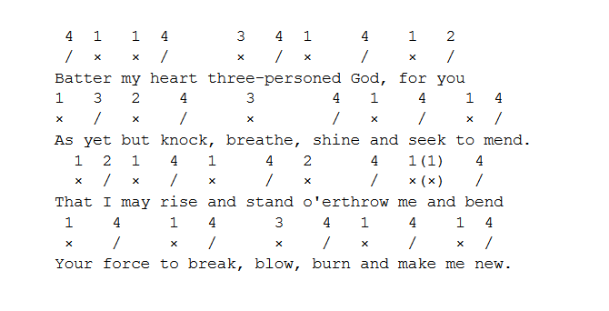 iambic pentameter examples