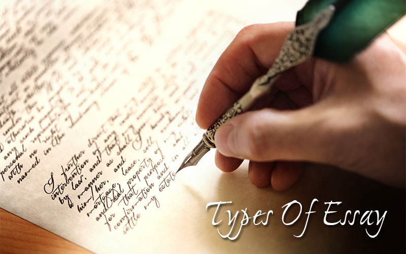 Types of Essays for School or Work